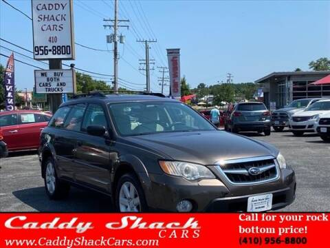 2008 Subaru Outback for sale at CADDY SHACK CARS in Edgewater MD