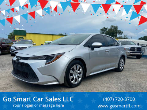 2021 Toyota Corolla for sale at Go Smart Car Sales LLC in Winter Garden FL