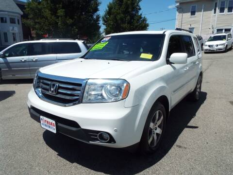 2012 Honda Pilot for sale at FRIAS AUTO SALES LLC in Lawrence MA