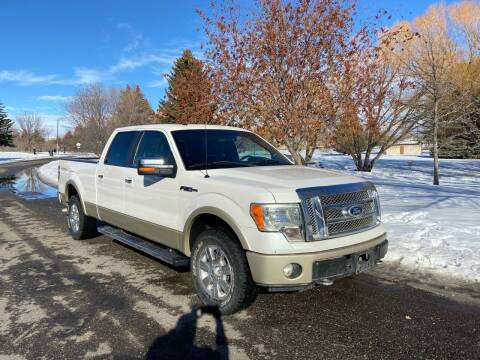 2010 Ford F-150 for sale at BELOW BOOK AUTO SALES in Idaho Falls ID