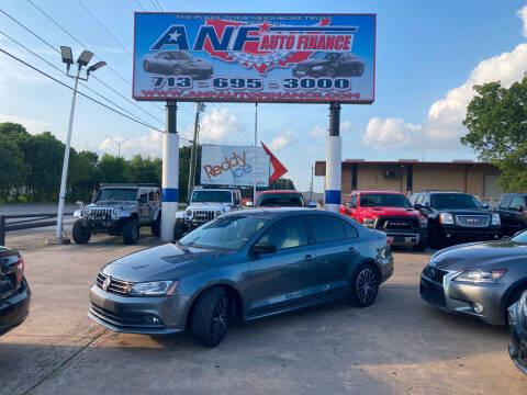 2015 Volkswagen Jetta for sale at ANF AUTO FINANCE in Houston TX