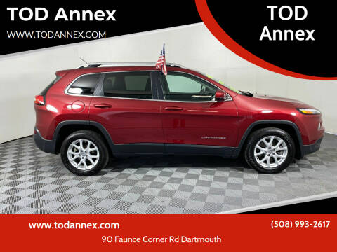 2015 Jeep Cherokee for sale at TOD Annex in North Dartmouth MA