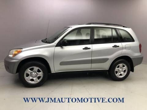 2005 Toyota RAV4 for sale at J & M Automotive in Naugatuck CT