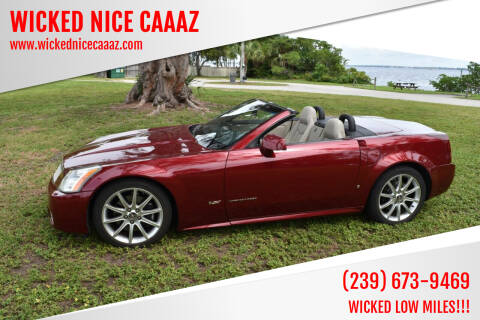 2006 Cadillac XLR-V for sale at WICKED NICE CAAAZ in Cape Coral FL