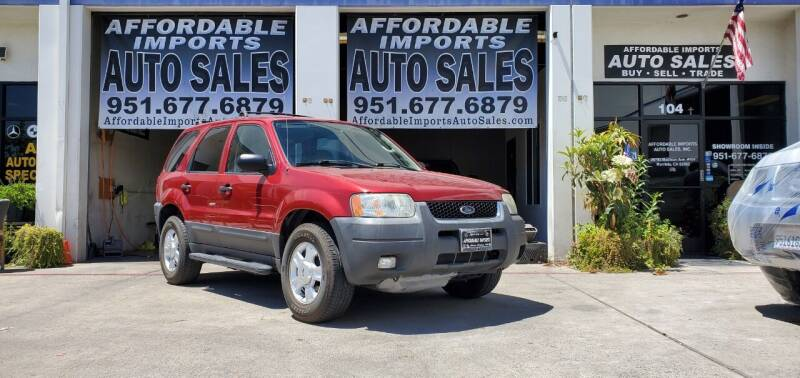 2003 Ford Escape for sale at Affordable Imports Auto Sales in Murrieta CA