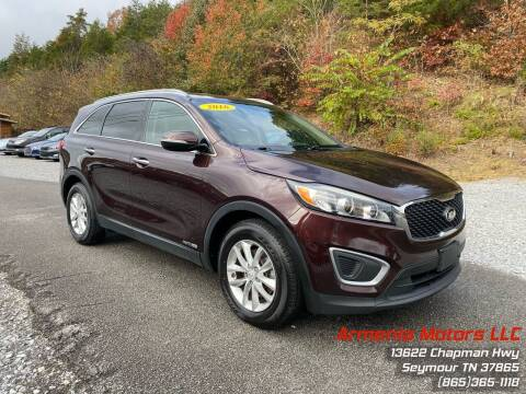 2016 Kia Sorento for sale at Armenia Motors in Seymour TN