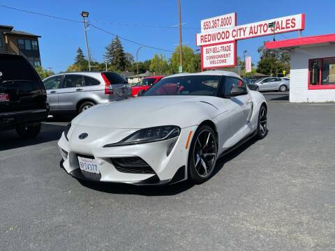 2020 Toyota GR Supra for sale at Redwood City Auto Sales in Redwood City CA