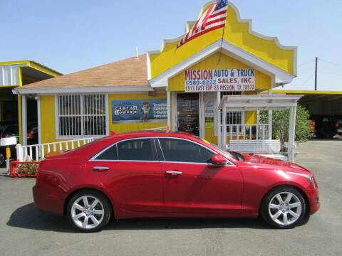 2013 Cadillac ATS for sale at Mission Auto & Truck Sales, Inc. in Mission TX