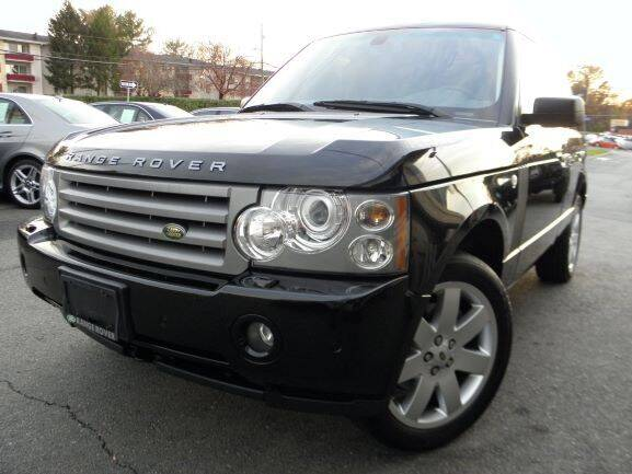 2008 Land Rover Range Rover for sale at DMV Auto Group in Falls Church VA