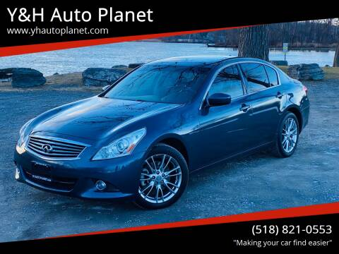 2011 Infiniti G37 Sedan for sale at Y&H Auto Planet in West Sand Lake NY
