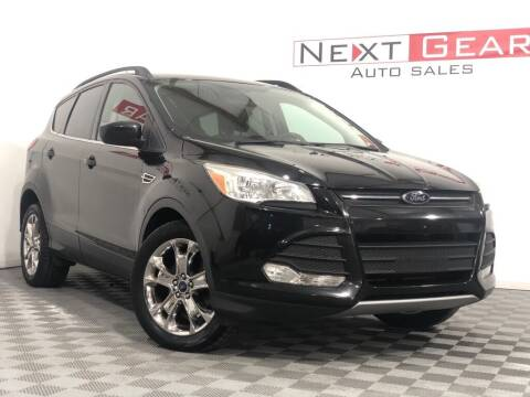 2014 Ford Escape for sale at Next Gear Auto Sales in Westfield IN