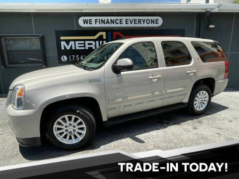 2009 GMC Yukon for sale at Meru Motors in Hollywood FL
