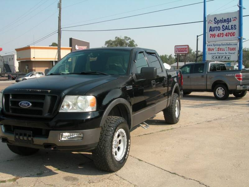 2005 Ford F-150 for sale at Springs Auto Sales in Colorado Springs CO