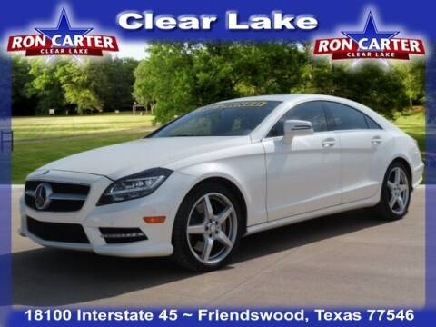 2013 Mercedes-Benz CLS for sale at Ron Carter  Clear Lake Used Cars in Houston TX