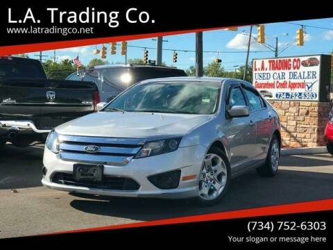 2011 Ford Fusion for sale at L.A. Trading Co. in Woodhaven MI