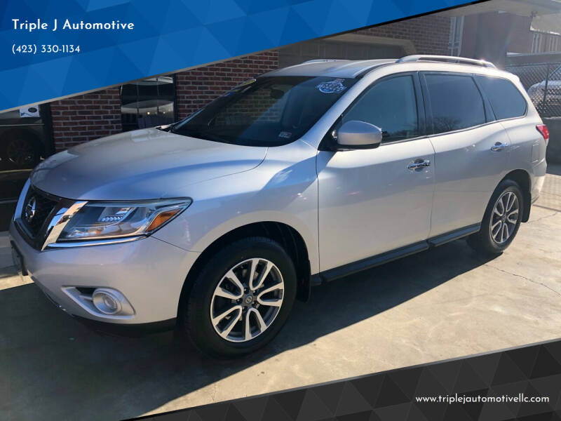 2013 Nissan Pathfinder for sale at Triple J Automotive in Erwin TN