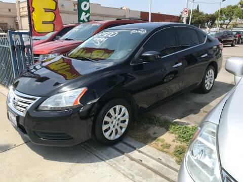 2015 Nissan Sentra for sale at Olympic Motors in Los Angeles CA