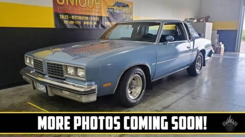 1980 Oldsmobile Cutlass for sale at UNIQUE SPECIALTY & CLASSICS in Mankato MN