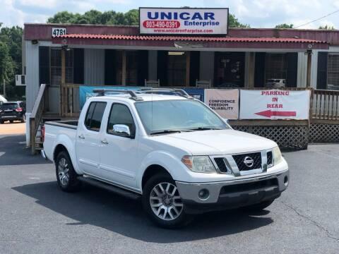 2012 Nissan Frontier for sale at Unicar Enterprise in Lexington SC