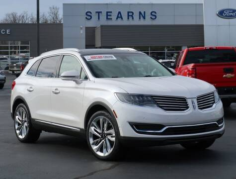 2018 Lincoln MKX for sale at Stearns Ford in Burlington NC