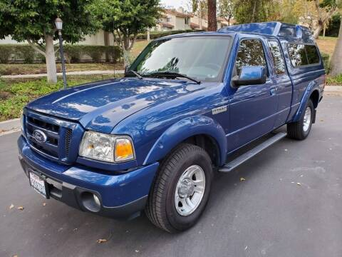 2010 Ford Ranger for sale at E MOTORCARS in Fullerton CA