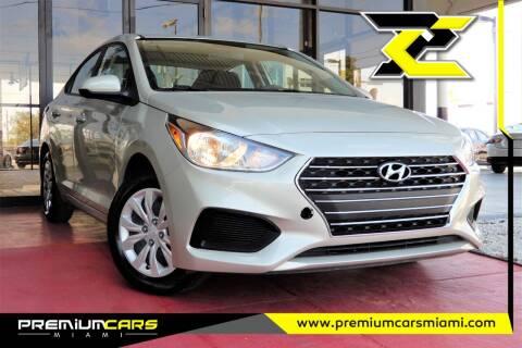 2020 Hyundai Accent for sale at Premium Cars of Miami in Miami FL