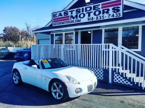 2008 Pontiac Solstice for sale at EASTSIDE MOTORS in Tulsa OK