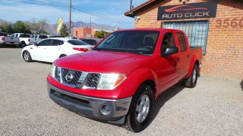 2006 Nissan Frontier for sale at Auto Click in Tucson AZ