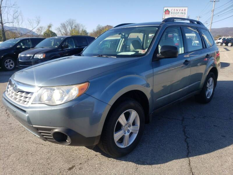 2011 Subaru Forester for sale at Salem Auto Sales in Salem VA