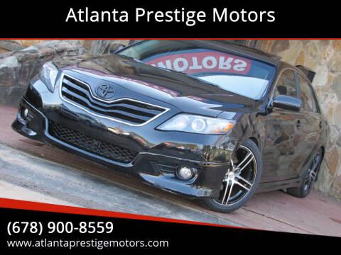 2011 Toyota Camry for sale at Atlanta Prestige Motors in Decatur GA