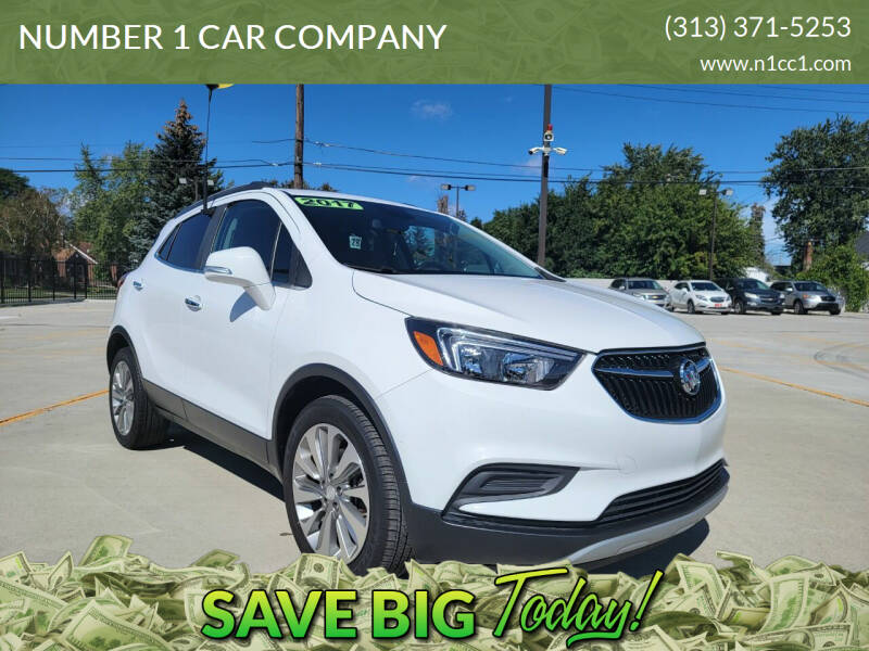 2017 Buick Encore for sale at NUMBER 1 CAR COMPANY in Detroit MI