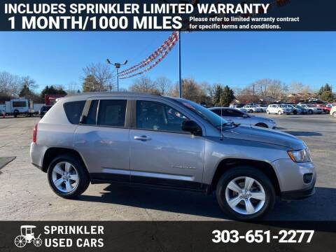 2014 Jeep Compass for sale at Sprinkler Used Cars in Longmont CO