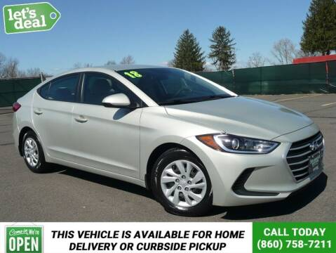 2018 Hyundai Elantra for sale at Shamrock Motors in East Windsor CT