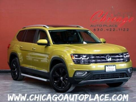 2018 Volkswagen Atlas for sale at Chicago Auto Place in Bensenville IL