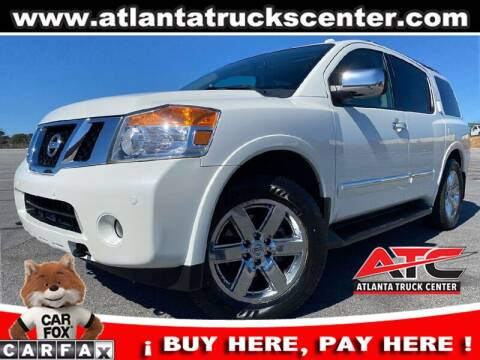 2014 Nissan Armada for sale at ATLANTA TRUCK CENTER LLC in Brookhaven GA