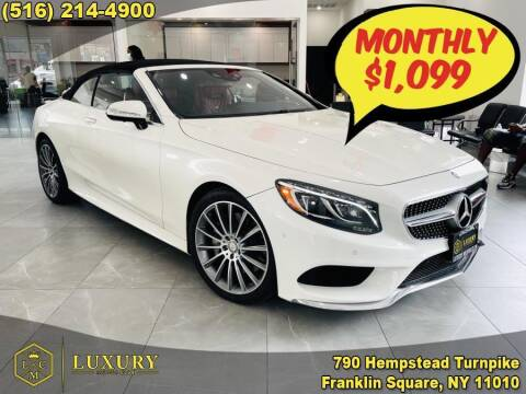 2017 Mercedes-Benz S-Class for sale at LUXURY MOTOR CLUB in Franklin Square NY