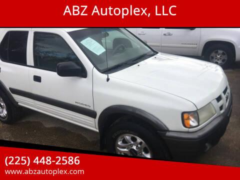 2003 Isuzu Rodeo for sale at ABZ Autoplex, LLC in Baton Rouge LA