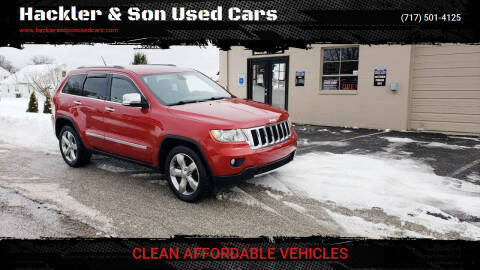 2011 Jeep Grand Cherokee for sale at Hackler & Son Used Cars in Red Lion PA