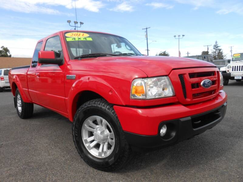 2011 Ford Ranger for sale at McKenna Motors in Union Gap WA