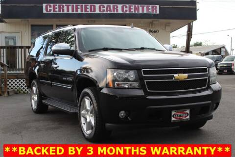2013 Chevrolet Suburban for sale at CERTIFIED CAR CENTER in Fairfax VA