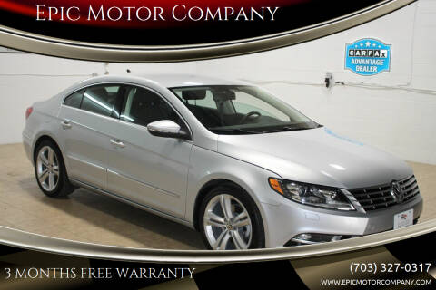 2013 Volkswagen CC for sale at Epic Motor Company in Chantilly VA