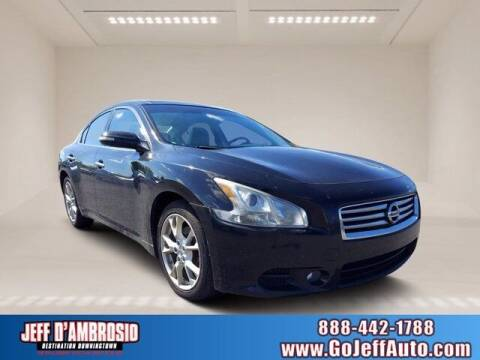 2012 Nissan Maxima for sale at Jeff D'Ambrosio Auto Group in Downingtown PA