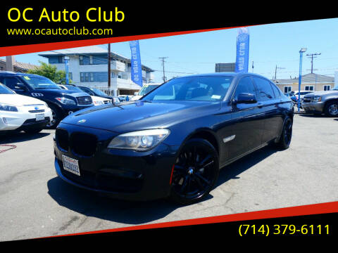 2012 BMW 7 Series for sale at OC Auto Club in Midway City CA