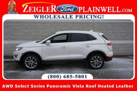 2018 Lincoln MKC for sale at Zeigler Ford of Plainwell- Jeff Bishop in Plainwell MI