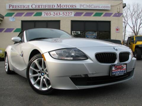 2006 BMW Z4 for sale at Prestige Certified Motors in Falls Church VA