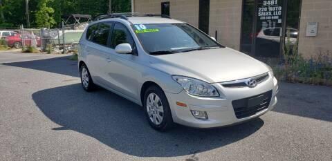 2010 Hyundai Elantra Touring for sale at 220 Auto Sales LLC in Madison NC