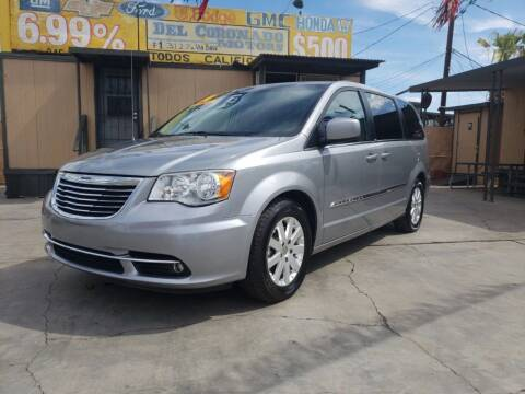 2013 Chrysler Town and Country for sale at DEL CORONADO MOTORS in Phoenix AZ