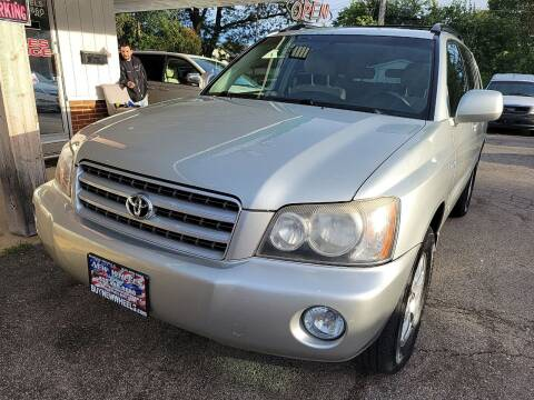2003 Toyota Highlander for sale at New Wheels in Glendale Heights IL