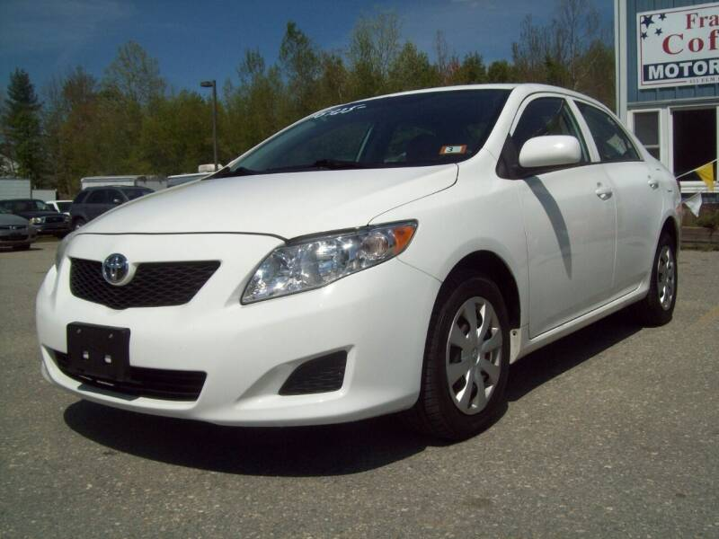 2010 Toyota Corolla for sale at Frank Coffey in Milford NH