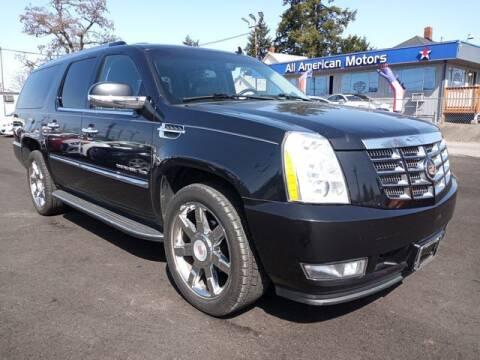 2013 Cadillac Escalade ESV for sale at All American Motors in Tacoma WA